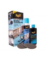Meguiars Perfect Clarity Two Step Headlight Polish And Restoration Kit