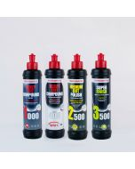 Menzerna 250ml Sampler Pack - Heavy Cut 1000, Heavy Cut 400, Medium Cut 2500, Super Finish 3500