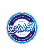 Blok 51 - Blok 51 Round Sticker - Blue