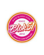 Blok 51 - Blok 51 Round Sticker - Pink and Orange