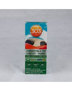 303 Convertible Top Care Kit for Fabric soft top Roofs.  A great cleaner and sealant for fabric softtops.
