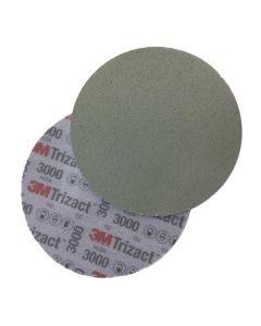 3M Trizact P3000 150mm (6 inch) Velcro Wet Sanding Disc