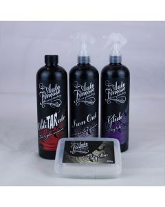 Auto Finesse Clay Bar, Tar Remover and Iron Remover Paint Decontamination Kit