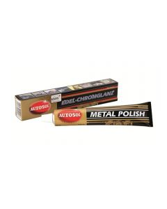 Autosol - Metal Polish 75ml - Polish Aluminium, Stainless Steel, Brass, Alloy, Wheels, Exhaust Tips