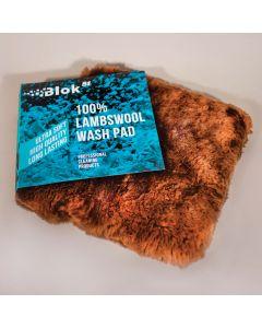 The Blok 51 Premium Extra Soft Wool Wash Pad