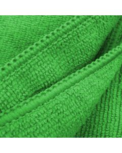 Blok 51 Premium Quality 300gsm Green Microfibre Cloth