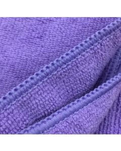 Blok 51 Premium Quality 300gsm Purple Microfibre Cloth