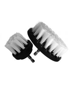 Blok 51 Carpet And Upholstery Cleaning Drill Brush Set Of 2