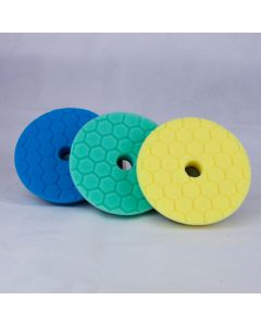 Chemical Guys 5 inch Hex Logic Quantum Pads Hard Paint Kit