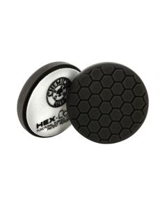 Chemical Guys HEX-LOGIC Finishing Pad - Black 6 Inch