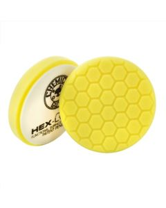 Chemical Guys Hex-Logic Heavy Cutting & Compounding Pad - Yellow (6 Inch)