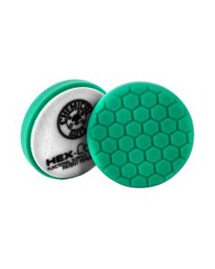 Chemical Guys HEX-LOGIC Heavy Polishing Pad - Green 6 Inch