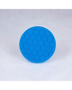 Chemical Guys HEX-LOGIC Light Polishing and Finishing Pad - Blue (5 Inch)