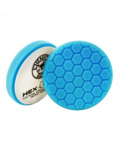 Chemical Guys Hex-Logic Light Polishing And Finishing Pad - Blue (6 Inch)