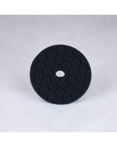 Chemical Guys Hex-Logic Quantum Light Finishing Pad - Black (6 Inch)