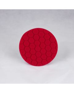 Chemical Guys HEX-LOGIC Ultra Light Finishing Pad - Red (5 Inch)