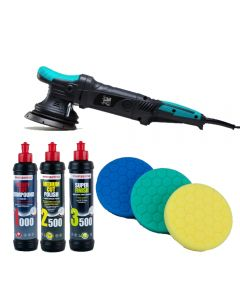 Auto Finesse DPX Machine Polisher Bundle - Inc. Pads and Polishes