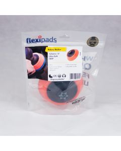 Flexipads World Class 125mm Rotary Polisher Velcro Soft Backing Plate