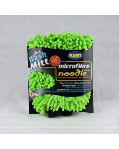Kent Car Care Green Noodle Microfibre Wash Mitt