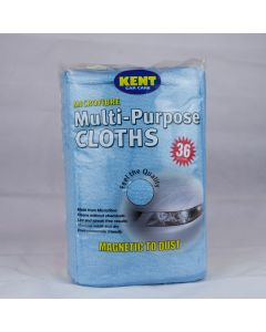 Kent Car Care 36 X Microfibre Cloths