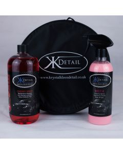 KKD Cherry Wash Shampoo, Bucket And Mist X Detailer Kit