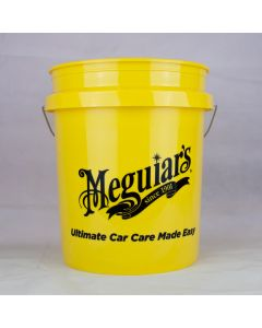Meguiars 19L Yellow Wash Bucket