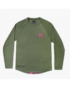 Muc-Off Long Sleeve Riders Jersey - Green
