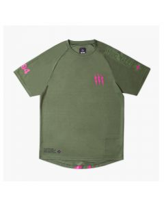 Muc-Off Short Sleeve Riders Jersey - Green