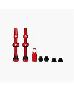Muc-Off Tubeless 60mm Red Presta Valve Kit