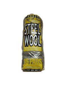 Detailing Steel Wire Wool - 0000 Super Fine Grade - 16 pads