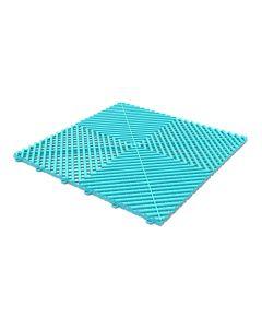 Tuff Tile Artic Teal Interlocking Garage Floor Tile 40cm x 40cm