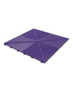Tuff Tile Plum Purple Interlocking Garage Floor Tile 40cm x 40cm