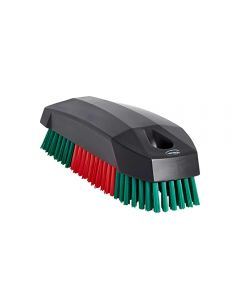 Vikan Stiff Bristle Detailing Brush For Upholstery, Soft Tops, Carpets & Tyres