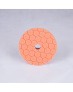 Chemical Guys - Hex-Logic Quantum Medium - Heavy Cutting Pad - Orange (6 Inch)