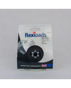 Flexipads World Class - 100mm M14 Thread Velcro Medium Density