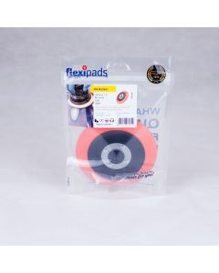Flexipads World Class - 125mm Dual Action Velcro Ultra Flexible Backing Plate