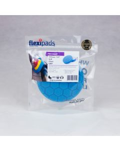 Flexipads World Class - 135mm (5.5 inch) PRO-BLUE Light Clean & Glaze Pad