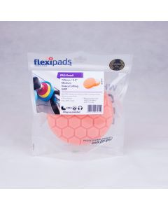 Flexipads World Class - 135mm (5.5 inch) PRO-ORANGE Med/Heavy Cut Pad
