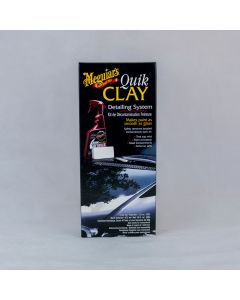 Meguiars - Quick Clay Starter Kit - 473ml Detailer and 80g Clay Bar