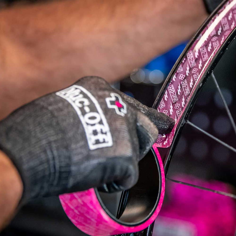 Muc-Off Tubeless Rim Tape Application